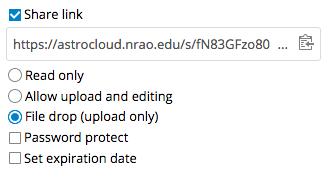 AC file drop