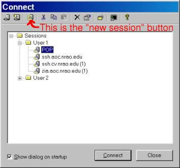 SecureCRT for Windows — NRAO Information