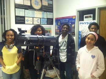 Hampton HS Students