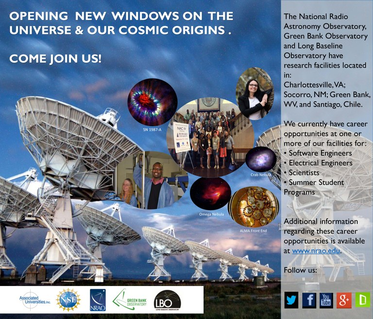 Our Committment and Diversity and Excellence! — NRAO Information