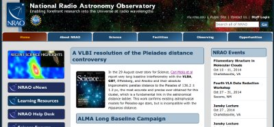 Visit the NRAO Science Web Site