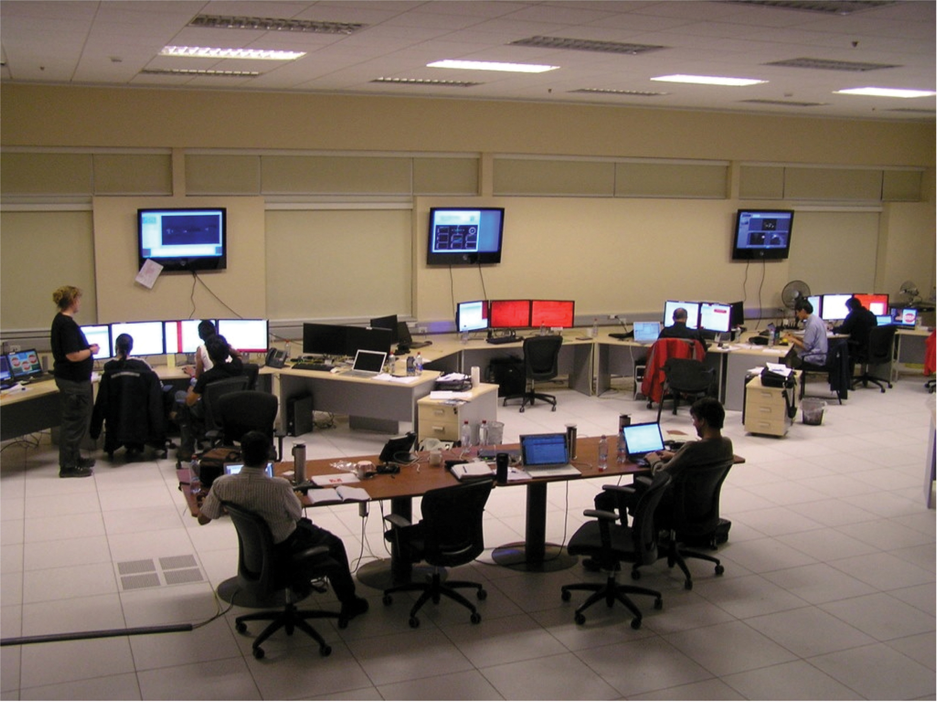 ALMA Control Room, September 2011