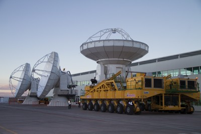 North American ALMA Antennas, March 2011