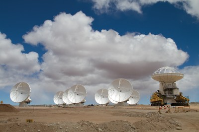 Delivering an Antenna to ALMA, March 2011