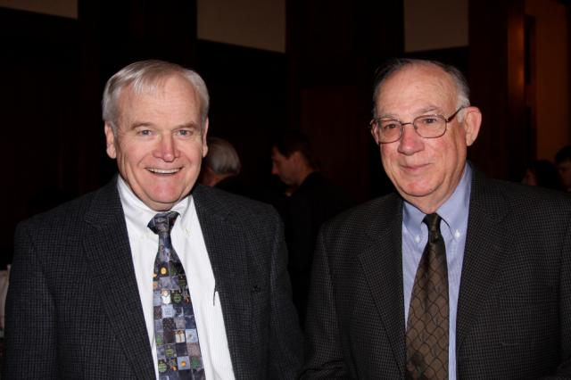 Bob Burns and Monroe Petty, 2009