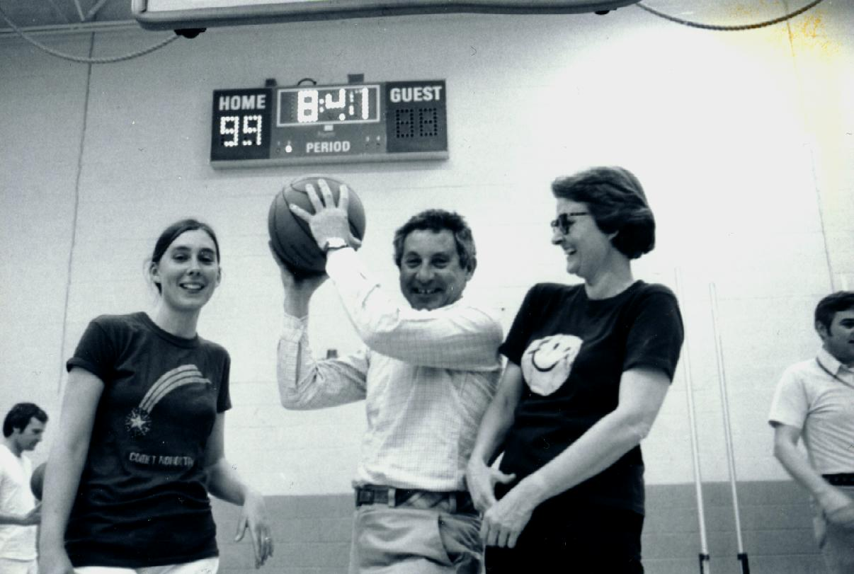 Basketball in Charlottesville, late 1970s