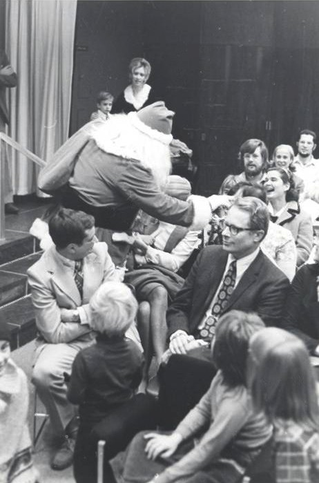 Children's Christmas Party in Charlottesville, 1972