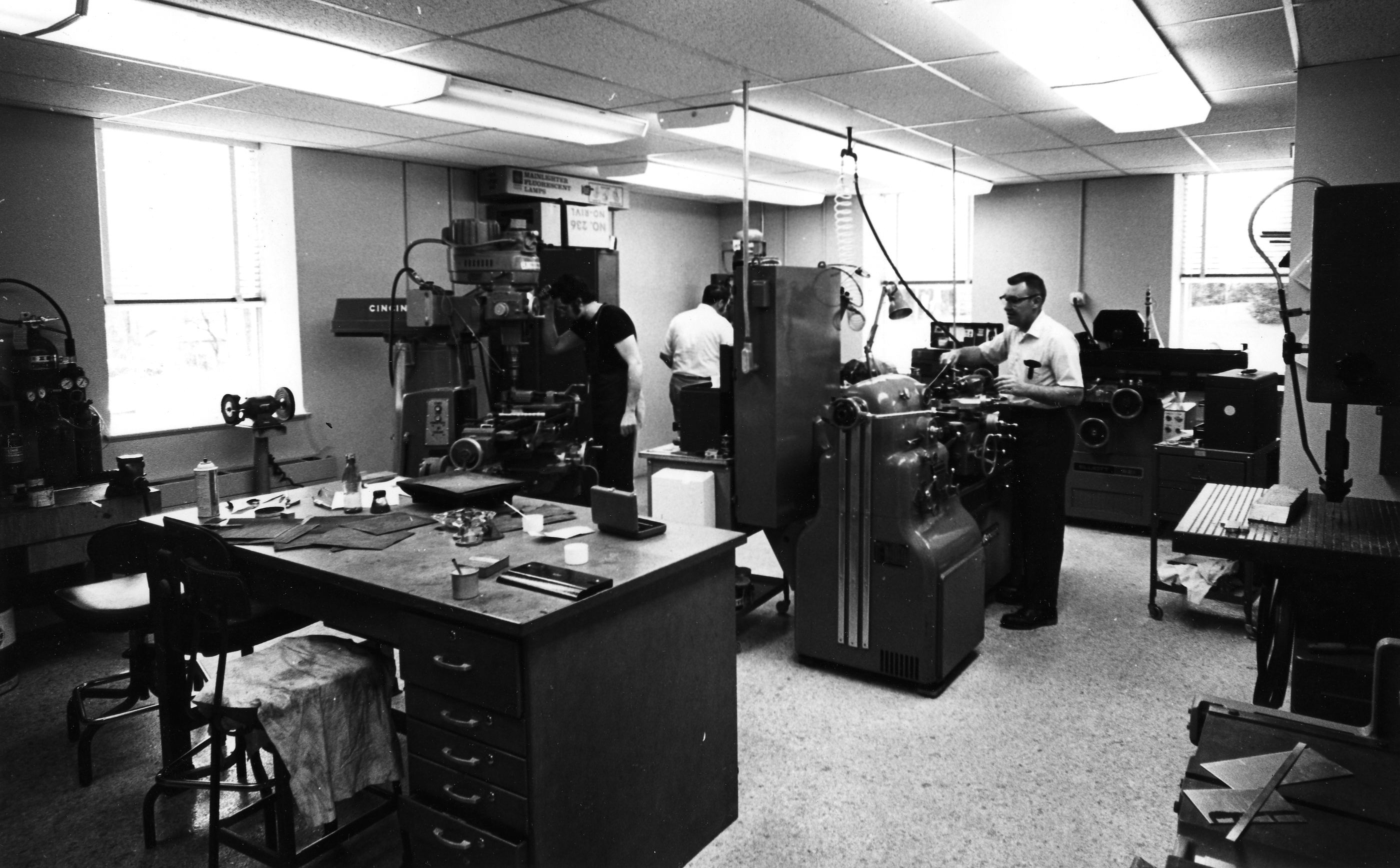 Machine Shop, 1980