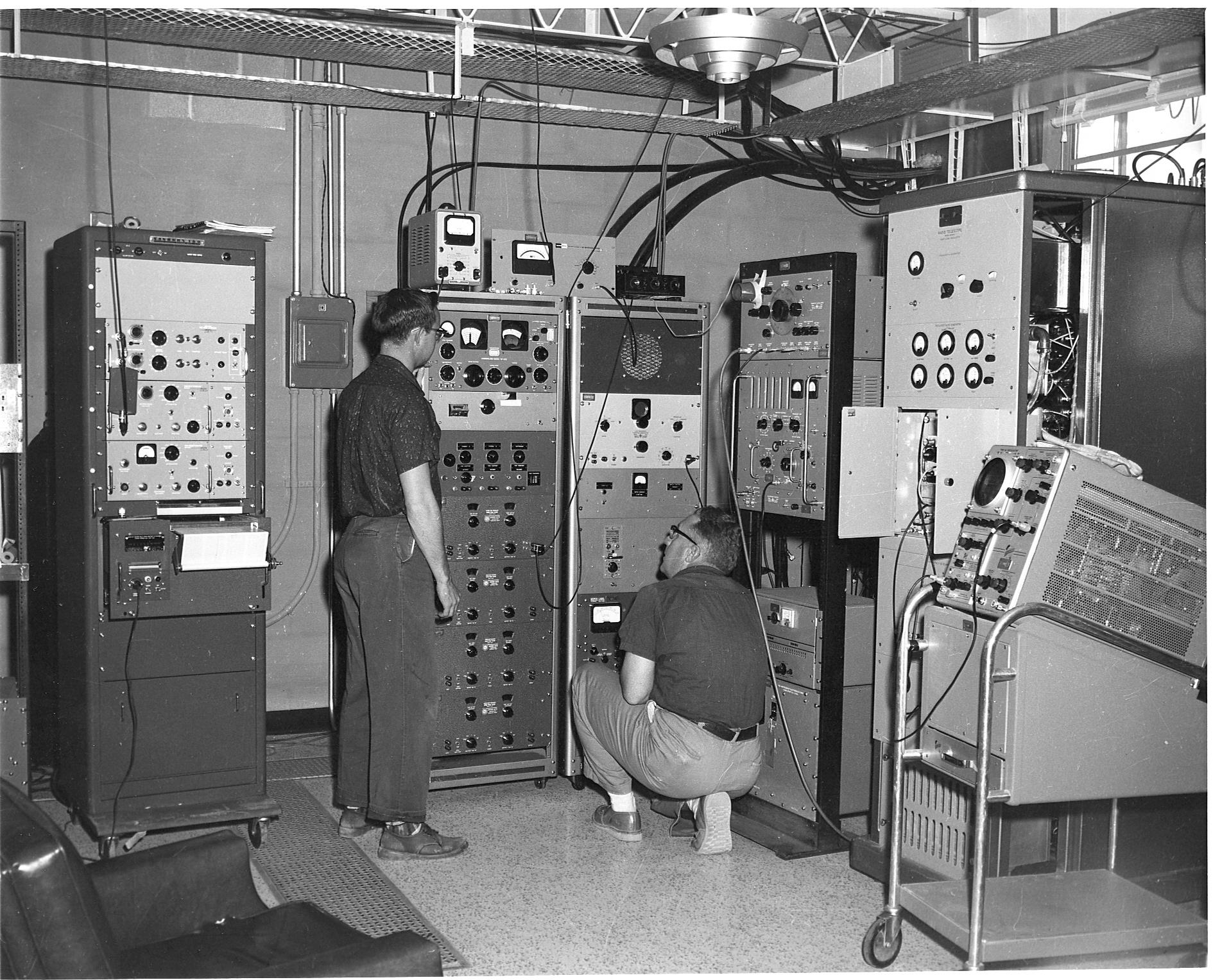 85 Foot Control Room, 1960