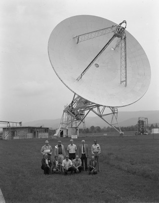 85 Foot Telescope and Ozma team, 1985