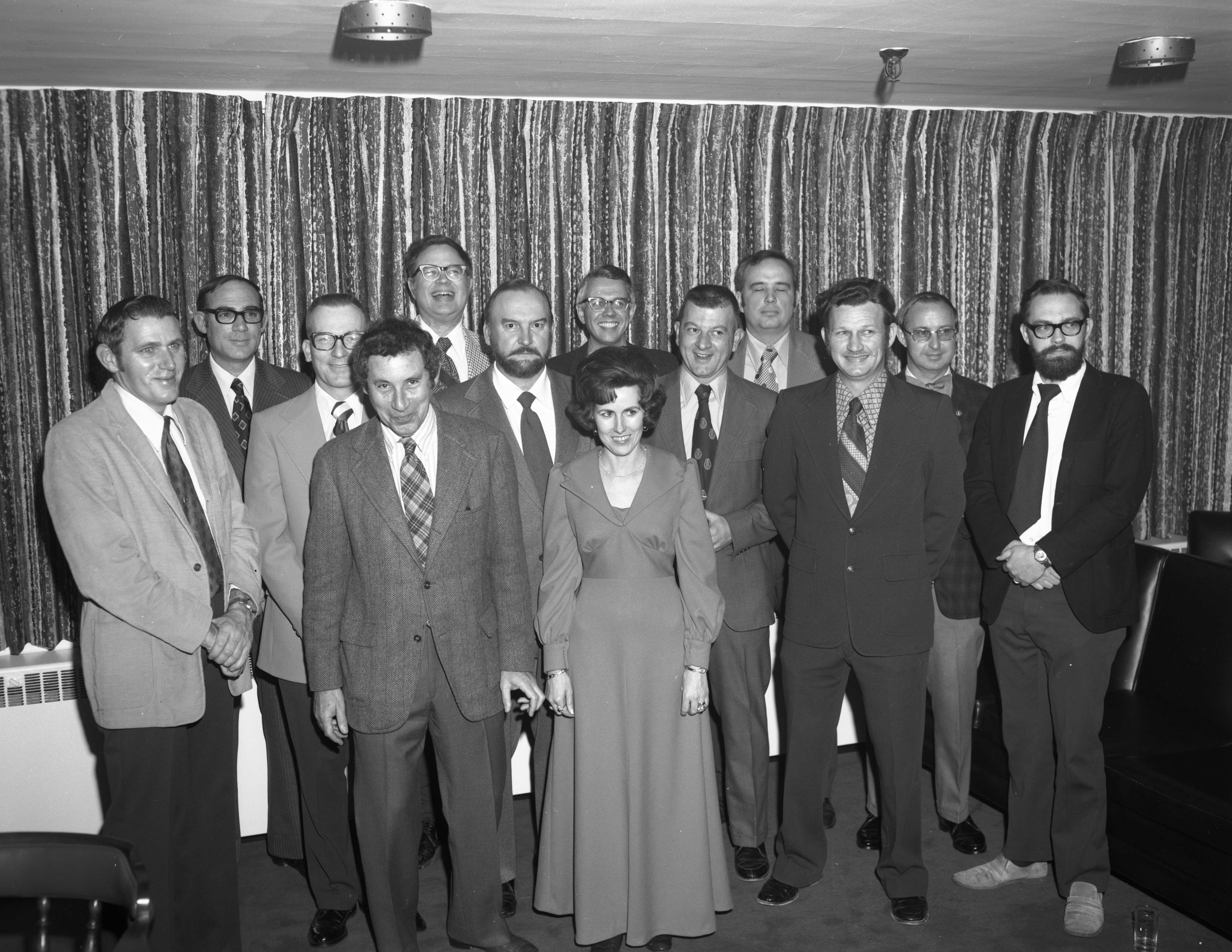 10 Year Service Awards, 1975