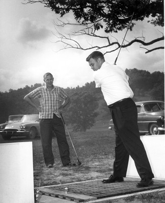 Ted Riffe and Dave Heeschen, 1962