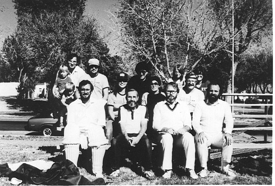 Cricket in Socorro, November 1980