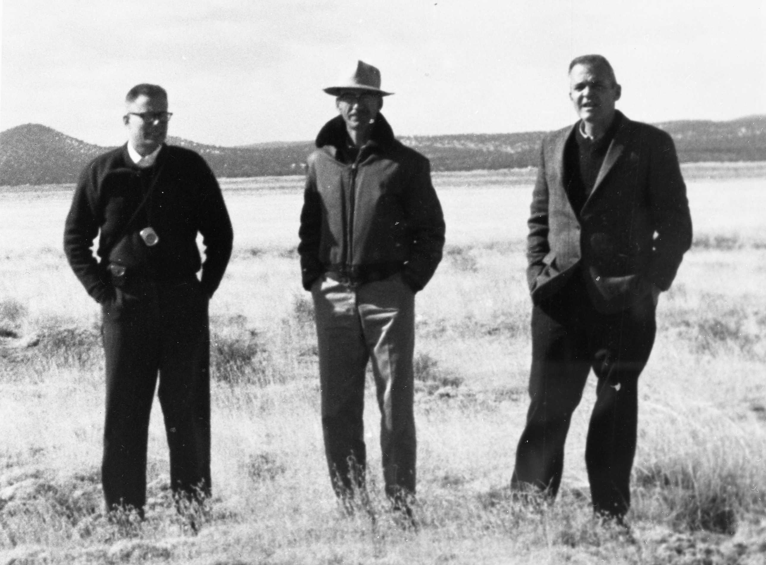 Searching for a VLA Site, February 1966