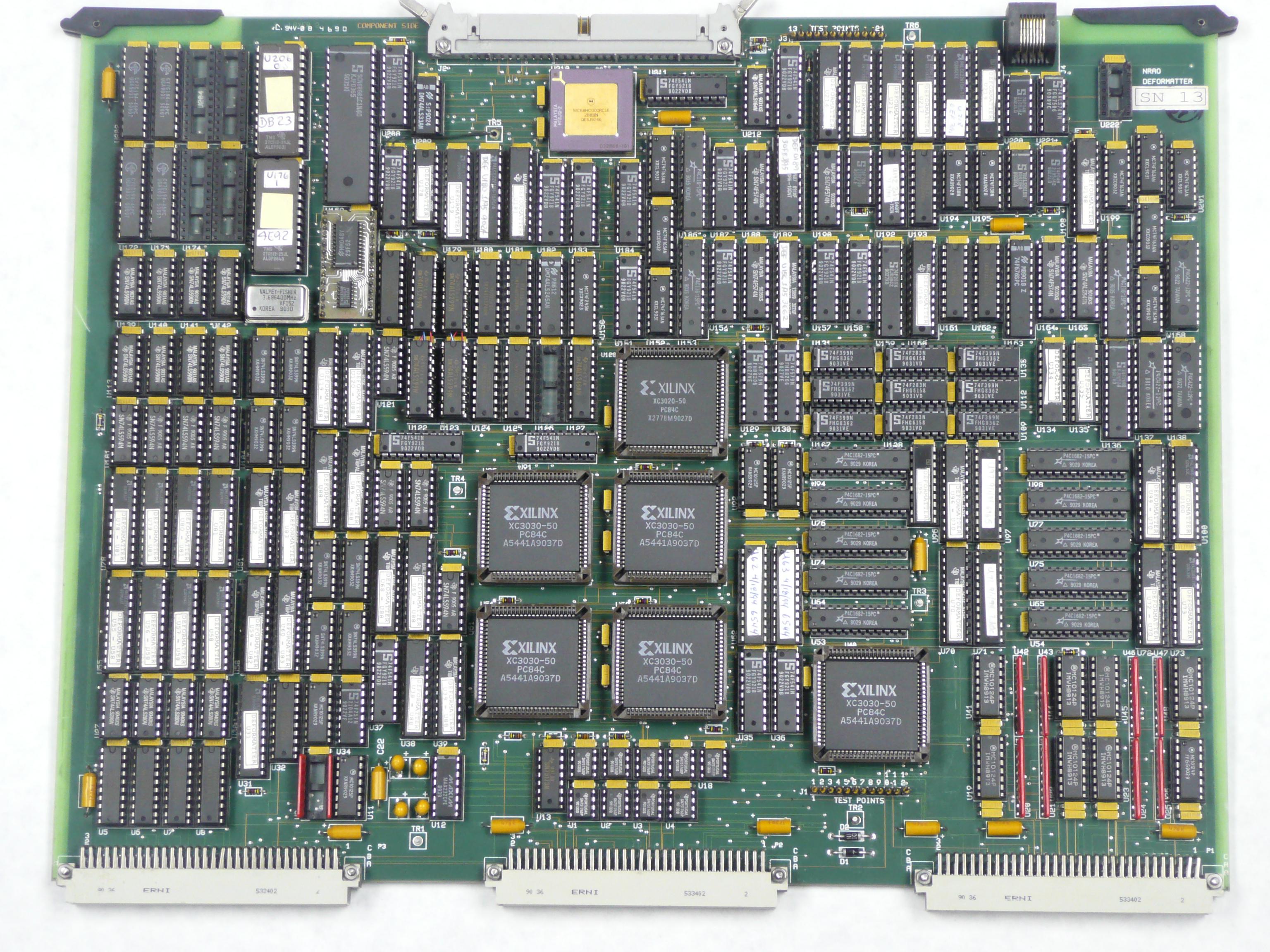VLBA Deformatter Board, date unknown