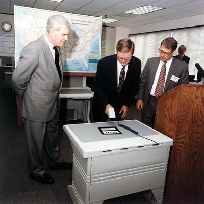 VLBA Dedication, 20 August 1993